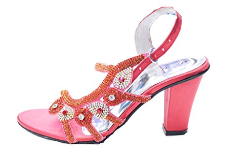 Wear Sandali amp; Donna Uk Coral Walk Multicolore Multicolour zTTqtrw