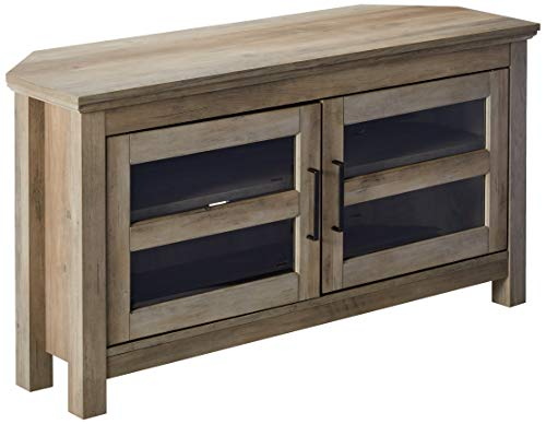 (WE Furniture AZQ44CCRGW TV Stand 44