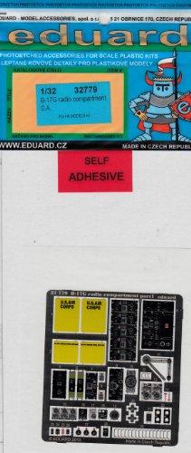 EDU32779 1:32 Eduard Color PE - B-17G Flying Fortress Radio Compartment Detail Set (for the HK Model model kit) MODEL KIT ACCESSORY
