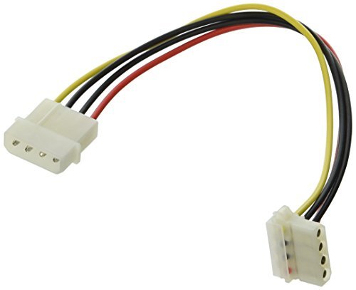 Monoprice 9-Inch Molex Male to Female Internal DC Power Extension Cable (102878)