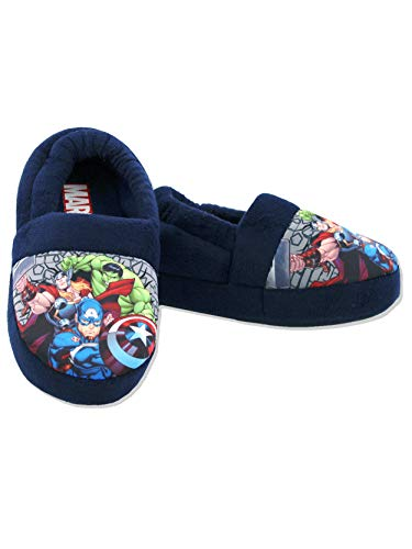 Image of Marvel Avengers Toddler Boys Plush Aline Slippers