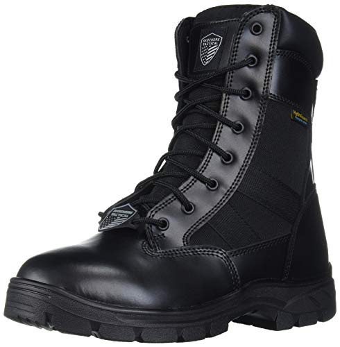 Skechers Men's Wascana-Athas Military and Tactical Boot, Black, 10.5 M US