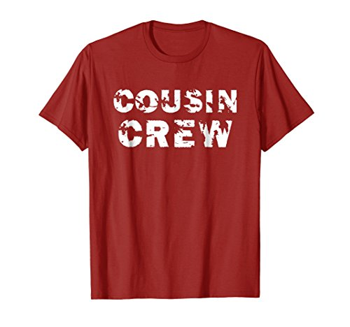 Cousin Crew T-Shirt Kids Women Men Girl Funny Gift