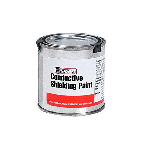 StewMac Conductive Shielding Paint, 1/2 pint (236.6ml)