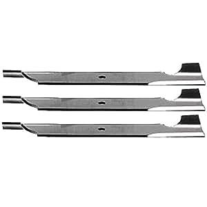 """Set de 3HD cuchilla 18""""x 5/8"""" Bobcat 32022un 112111–02Exmark 1–303283"""