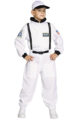 Space Shuttle Astronaut Commander Kids Costume - Career Costumes For Kids