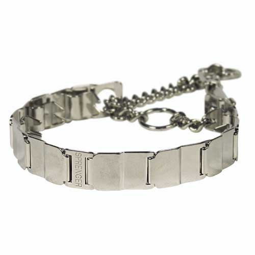 Dean & Tyler Herm Sprenger Original NEW Pinch Collar ''Neck Tech'', Size: 19'', Stainless Steel, Life Time Warranty!
