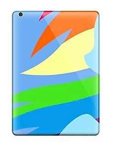 Paul Jason Evans's Shop Best 5367106K85579312 New Ipad Air Case Cover Casing(rainbow Dash)