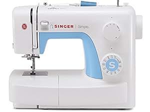 Singer Simple 3221 - Máquina de coser mecánica, 21 puntadas, 120 V, color blanco