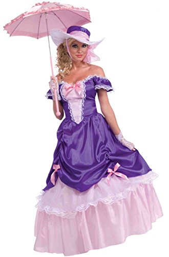 Blossom Southern Belle Adult Costumes (Blossom Southern Belle Costume - Standard - Dress Size 6-12)