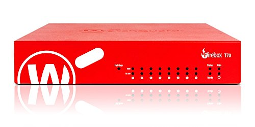 Watchguard Firebox T70, Security Appliance 8 Ports, 10Mb LAN, 100Mb LAN, GigE (WGT70031-US) ()