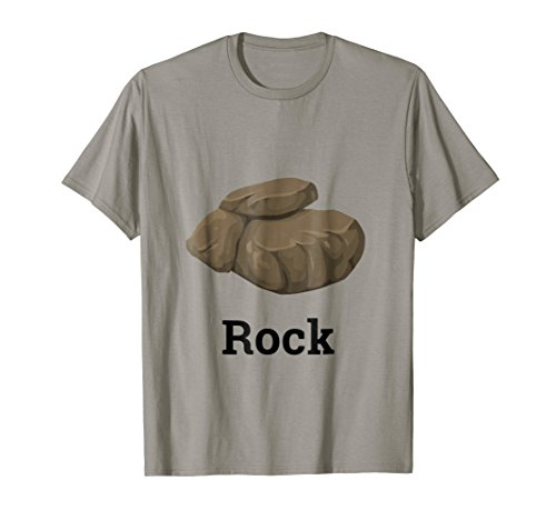 Rock with Boulder Funny Group Trio Halloween Costume Tshirt