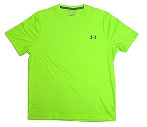 Under Armour Short Sleeve T-Shirt Mens Lite Green (XX-Large, Lite Green)