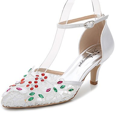 US8 Uk6 UK6 Silk White Career Evening Zormey Dressstiletto Fall Eu39 amp;Amp; Office Wedding Sandals Party Outdoor D'Orsay Summer CN39 Materials Women'S 5 Cn40 amp;Amp; EU39 Customized Us8 5 Piece Two amp;Amp; nwCq8SpwRx