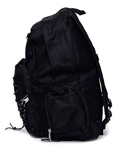 Freizeitrucksack schwarz 45x37x25