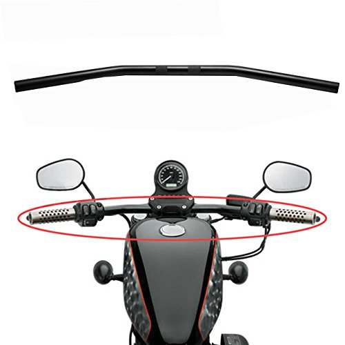 Big Twin Parts (INNOGLOW 1PC Aluminum Alloy 70.5cm Wide Drag Bar Handlebar Fit Bobber Brat Cafe Chopper Custom Motorcycles ,982-2014 Harley Sportster ,Big Twin Models)