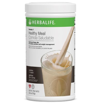 Herbalife Formula 1 Nutritional Shake Mix, Cookies and Cream, 750g by Herbalife