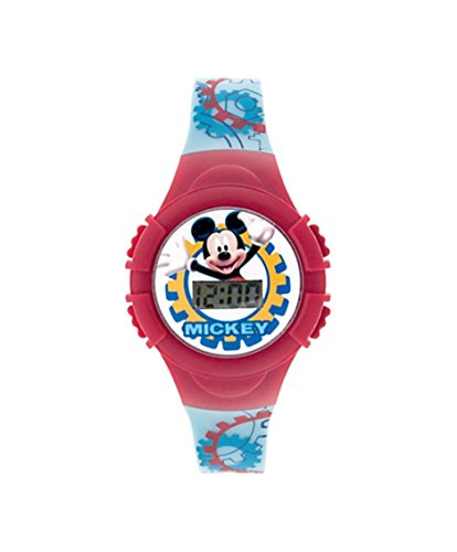 Price comparison product image Disney Red Mickey Mouse Clubhouse LCD Watch