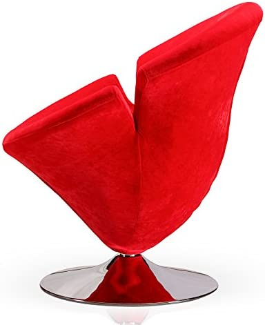 Ceets Accent Swivel Velvet Tulip Chair