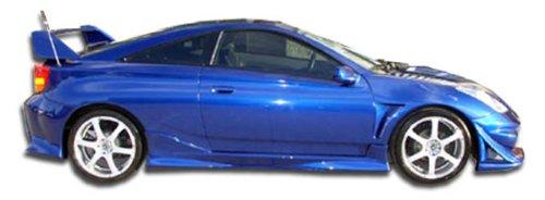 Toyota Celica Styling (2000-2005 Toyota Celica Duraflex Vader SE Side Skirts Rocker Panels - 2 Piece)