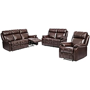 reclining sofa chair. Perfect Sofa BestMassage Loveseat Chaise Reclining Couch Recliner Sofa Chair Leather  Accent Set And