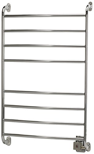 Warmrails HSKC Kensington 39.5-Inch Wall Mounted Towel Warmer, Chrome (Wall Mounted Electric Towel Rail)