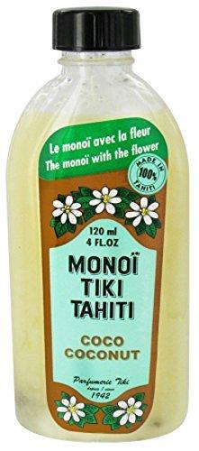 Monoi Tiare Tahiti, Monoi Tiki Tahiti, Coconut, 4 fl oz (120 ml) by Monoi Tiare Tahiti, Coconut Oil ()