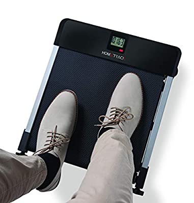 North American Health + Wellness Hometrack Sitting Manual Treadmill - Adjustable Incline Decline - Slim Design, Great for Office & Under Desk Space