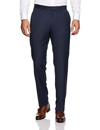 Van Heusen Men's Euro Fit Suit Pant, Ink, 104 Regular