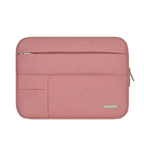- Pearlshop Laptop Sleeve Case Cover Unisex Solid Laptop Bag Notebook Bag 11.6-13.3/15-15.6/17-17.3 Inch 3 Size Can be Choose (Color : Pink, Size : 17-17.3 inch)