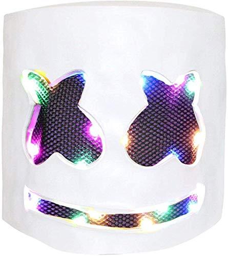 Deadmau5 Helmet For Halloween (Huippy DJ Mask, Music Festival Helmets, Full Head Masks Halloween Party Props Costume Masks)