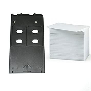 EMORE - Kit de Tarjetas de inyección de Tinta PVC con ...
