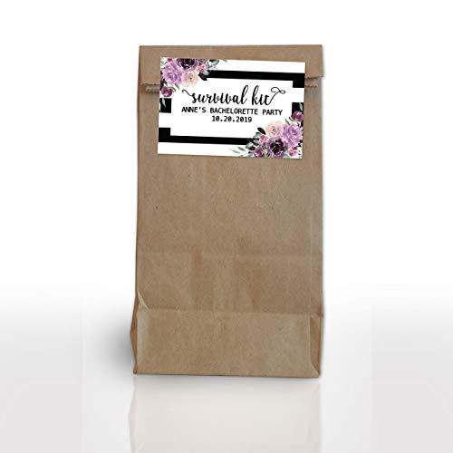 LoveAtEverySight Bachelorette Survival Kit Labels