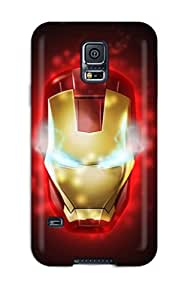 Premium Iron Man Back Cover Snap On Case For Galaxy S5