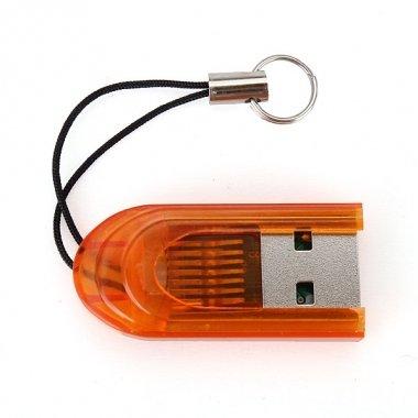 Bheema MicroSD/TransFlash//TF USB 2.0 Lector de Tarjeta de Memoria ...