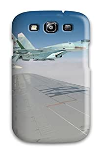 For Galaxy S3 Fashion Design Jet Fighter Case-FunRWnY2040JcGYR