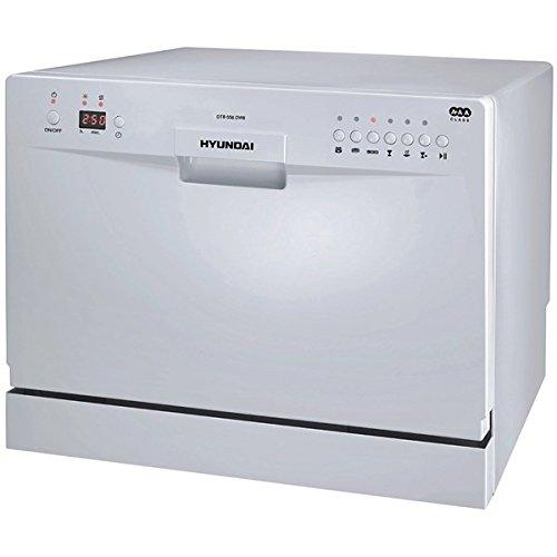 Hyundai DTB656DW8 Independiente 6cubiertos A+ lavavajilla ...