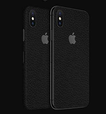 promo code ba09c c3d63 DBrand Black Leather Skin For Iphone X (back): Amazon.com: buy.gizmo