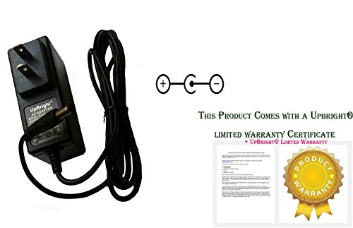 Price comparison product image UpBright 9V AC/DC Adapter For ZOOM AD-16 AD0006 AD0016D Pedal 606 607 707II B2 1U G2 MRS-4B MRS-8 MRT-3 PD-01 YS12-090050U PW-CT-9V MW41-930 A W-CT-9V PW-CT-04 Tech 21 DC4-A PS JOD-35U-07 359300C 9VDC