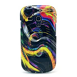 GJY Colorful S Style Vortex Pattern Soft Back Cover Case for Samsung Galaxy S3 Mini I8190