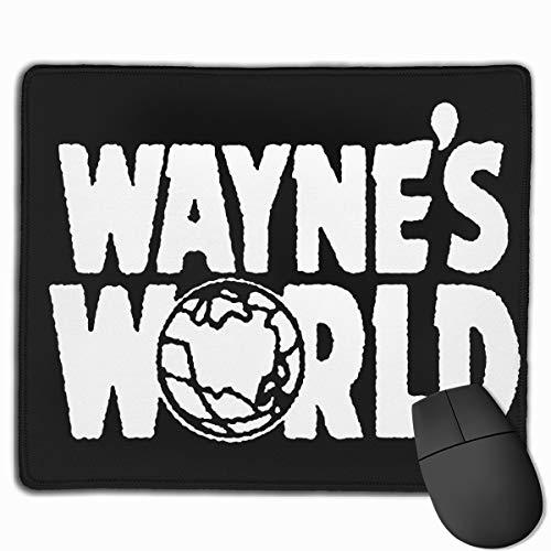 Huyuadu Gaming Mouse Pad Custom, Wayne's World Mouse Pad Personality Designs Gaming Mousepad