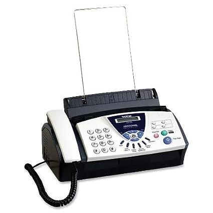 amazon com brother personal fax 575 fax machine fax machines