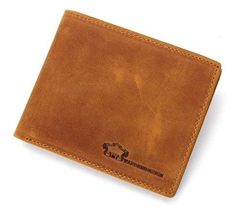 Wardeindesign Men's Leather Wallet Bifold RFID Designer engraved - and leather key fob by Wardeindesign (Image #5)