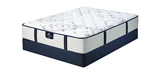Serta Pearce Plush Mattress Set, Twin ()