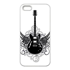Iphone 5,5S Lover sound - Guitar Phone Back Case Personalized Art Print Design Hard Shell Protection YT095520