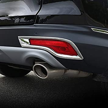 Car ABS Rear Fog Light Cover Trim for 2017 2018 2019 Honda CRV CR-V