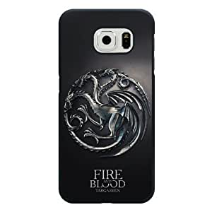Samsung Galaxy S6 Case, Customized Gameof Thrones Black Hard Shell Samsung Galaxy S6 Case, Gameof Thrones Galaxy S6 Case(Not Fit for Galaxy S6 Edge)