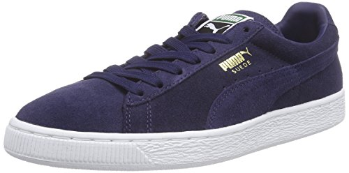 Blu Unisex white peacoat Adulto – Suede 52 Classic Sneaker Puma peacoat xwCUqYtRCW