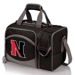 NCAA Northeastern Huskies Malibu Picnic Tote with Deluxe Picnic Service for Two