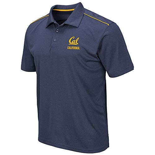 Mens Cal Berkeley Golden Bears Eagle Short Sleeve Polo Shirt - ()